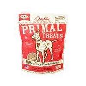 Primal Pet Foods Dry Roasted Chicken Shredders Dog Treats
