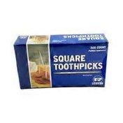 Royal Square Toothpicks