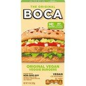 Boca Original Vegan Veggie Burgers with Non-GMO Soy