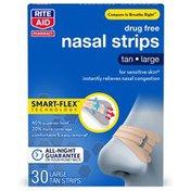 Rite Aid Large Tan Nasal Strips
