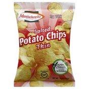 Manischewitz Potato Chips, Salted, Thin