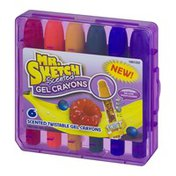 Mr. Sketch Scented Twisted Gel Crayons - 6 CT
