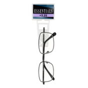 Essentials Non-Prescription Glasses +3.25 Jacob