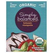 Simply Balanced Vinaigrette, Organic, Balsamic