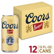 Coors Banquet Banquet Beer Can