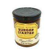 August Kitchen J-burger Onion