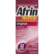 Afrin No Drip Pump Mist Original