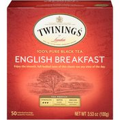 Twinings English Breakfast, 100% Pure Black Tea