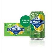 Ice mountain Sparkling Water, Lemon Lime