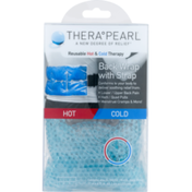 TheraPearl Back Wrap, with Strap, Hot + Cold, Reusable Pack