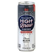 High Brew Coffee, Sparkling, Classic Black