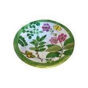 Caspari Coromandel Garden Paper Salad & Dessert Plates