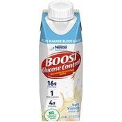 Boost GLUCOSE CONTROL Very Vanilla