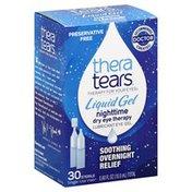 Thera Tears Eye Gel, Lubricant, Nighttime, Liquid Gel