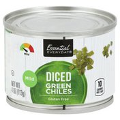 Essential Everyday Green Chiles, Mild, Diced