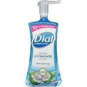 Dial Complete Antibacterial Foaming Hand Wash, Coconut Water