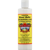 Maui Babe Browning Lotion, After