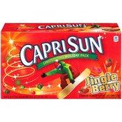 Capri Sun Jingle Berry Juice Drink