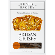 Rustic Bakery Artisan Crisps, Apricot, Pistachio & Brandy