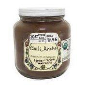 Terra Dolce Organic Dried Ancho Chili Powder