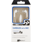 MobilEssentials Earbuds with Mic