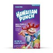 Hawaiian Punch Drink Mix, Sugar Free, Wild Purple Smash, On The Go