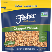 Fisher Chopped Walnuts, Value Size