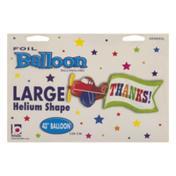 Betallic Large Helium Shape Balloon Thanks!