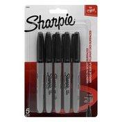 Sharpie Permanent Marker Fine Point Black