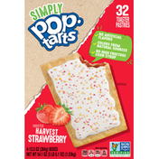 Pop-Tarts Toaster Pastries, Harvest Strawberry, Frosted