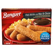 Banquet Classic Fish Sticks With Mac And Cheese