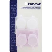 Vision Tech Contact Lens Case, Flip-Top