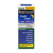 Robitussin Adult Night Time Cough, Cold & Flu Syrup