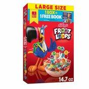 Kellogg's Breakfast Cereal, Fruit Flavored, Breakfast Snacks with Vitamin C, Original