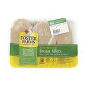 Foster Farms Simply Raised Boneless Skinless Chicken Breast Fillets