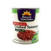 Natural Directions Organic Tomato Crushed Basil Sauce