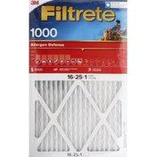 3M Air Filter, High Performance, 1000