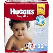 Huggies Snug & Dry Size 3 Diapers