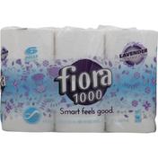 Fiora Bath Tissue, Lavender, 1-Ply