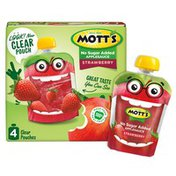 Mott's No Sugar Added Strawberry Applesauce