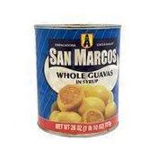 Empacadora San Marcos Whole Guavas in Syrup
