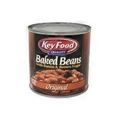 Key Food Baked Beans With Bacon & Brown Sugar, Original