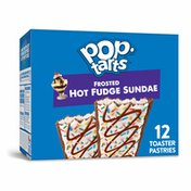 Kellogg's Pop-Tarts Toaster Pastries, Breakfast Foods, Baked in the USA, Frosted Hot Fudge Sundae