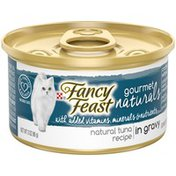 Fancy Feast Natural Tuna in Gravy Canned Cat Food