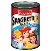 Spaghettios Disney Princess Cool Shapes Original Shaped Pasta