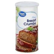 Great Value Bread Crumbs, Plain