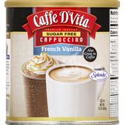 Caffe D'Vita Cappuccino, Sugar Free, French Vanilla