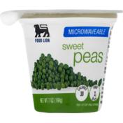 Food Lion Peas, Sweet, Microwaveable, Cup/Tub