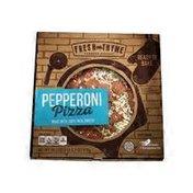 Fresh Thyme Pepperoni Pizza