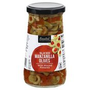 Essential Everyday Manzanilla Olives, with Minced Pimiento, Sliced